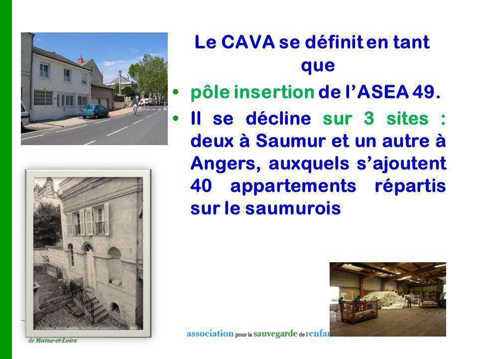 Le CAVA se définit en tant que