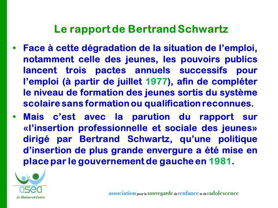 Le rapport de Bertrand Schwartz