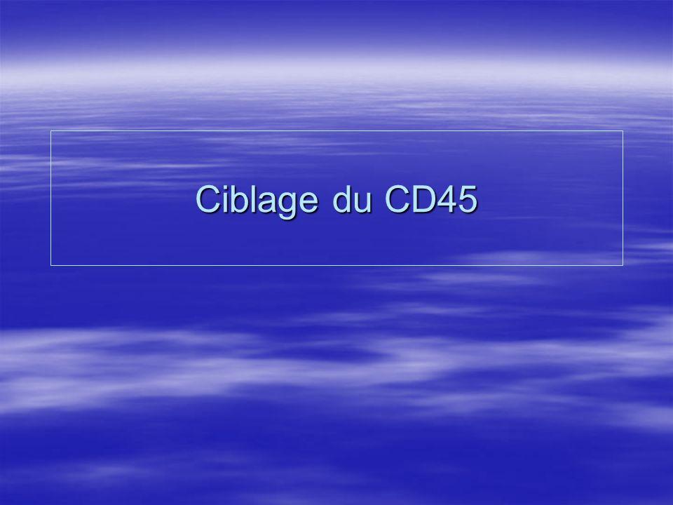 Ciblage du CD45