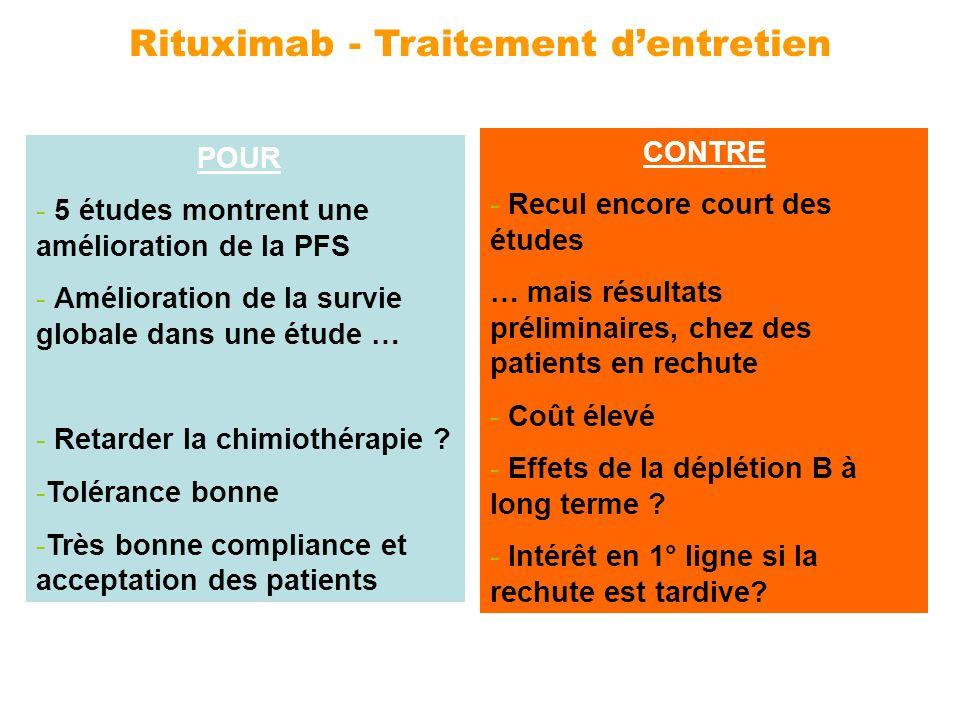 Rituximab - Traitement d'entretien