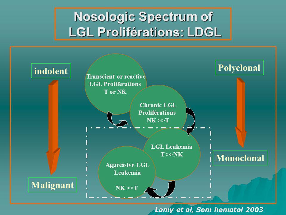Nosologic Spectrum of LGL Proliférations: LDGL