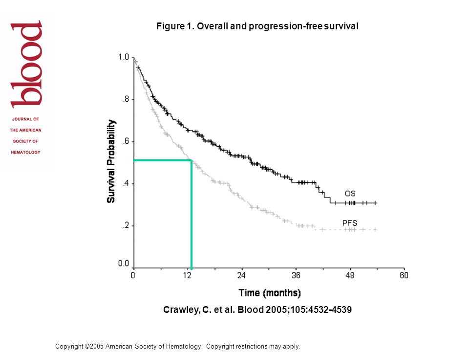 Figure 1. Overall and progression-free survival