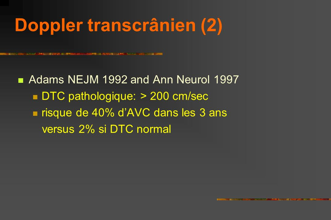 Doppler transcrânien (2)