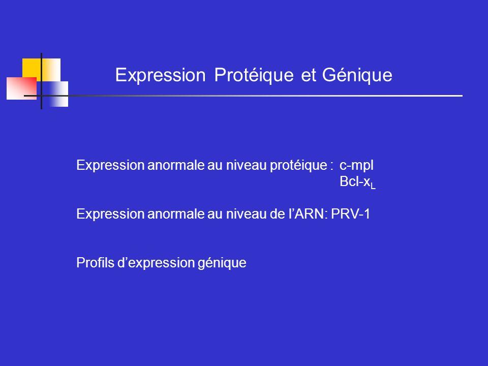 Expression Protéique et Génique
