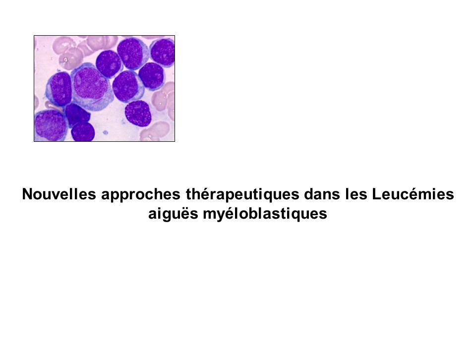 Nouvelles approches thérapeutiques dans les Leucémies aiguës myéloblastiques