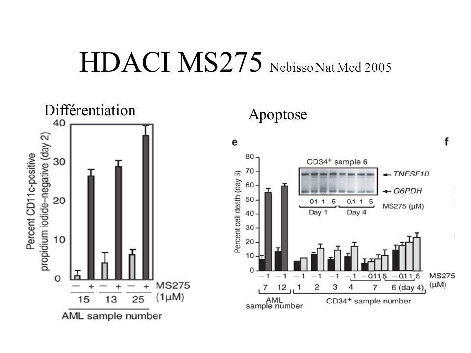 HDACI MS275 Nebisso Nat Med 2005