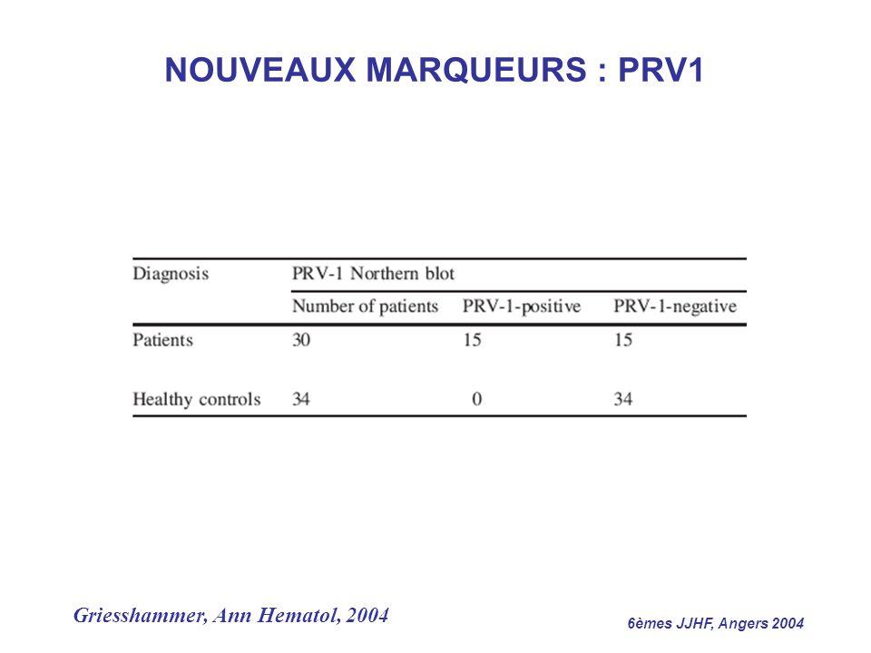 NOUVEAUX MARQUEURS : PRV1
