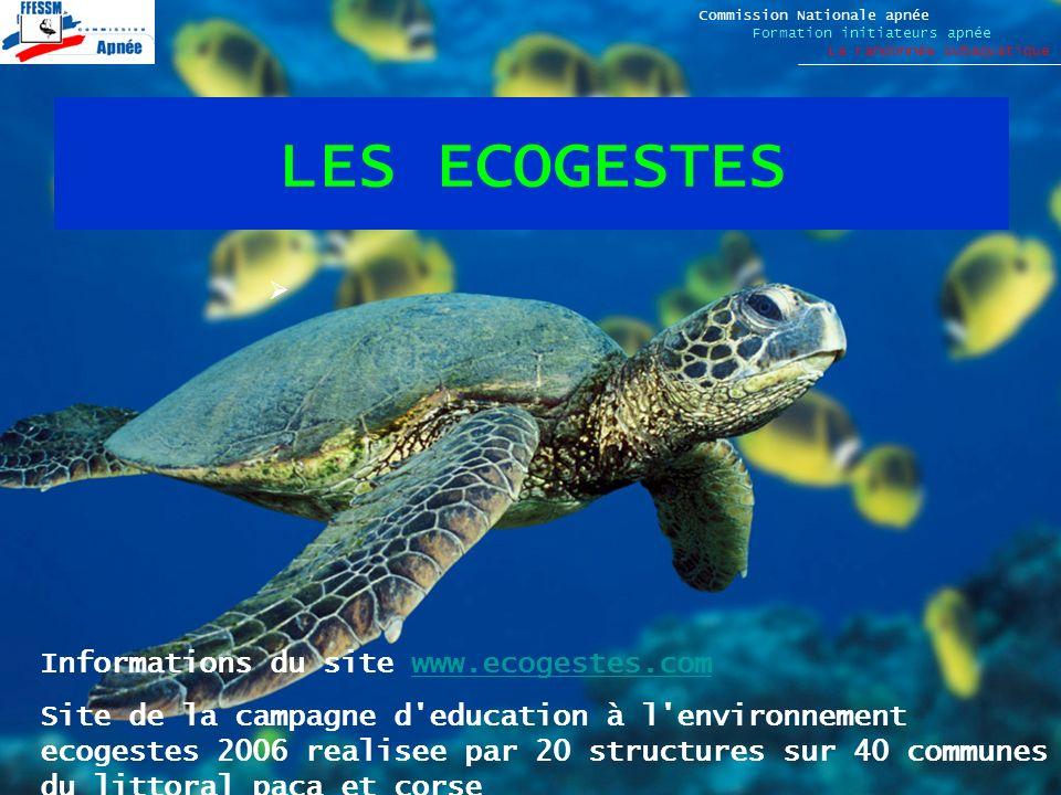 LES ECOGESTES Informations du site www.ecogestes.com