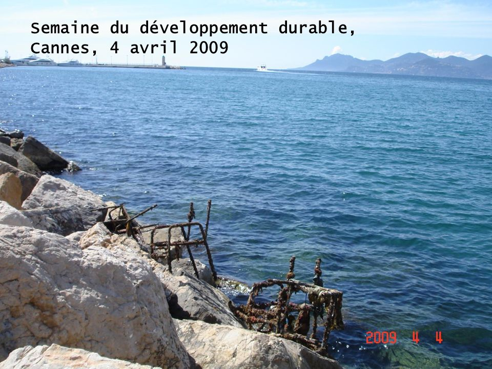 Semaine du développement durable,