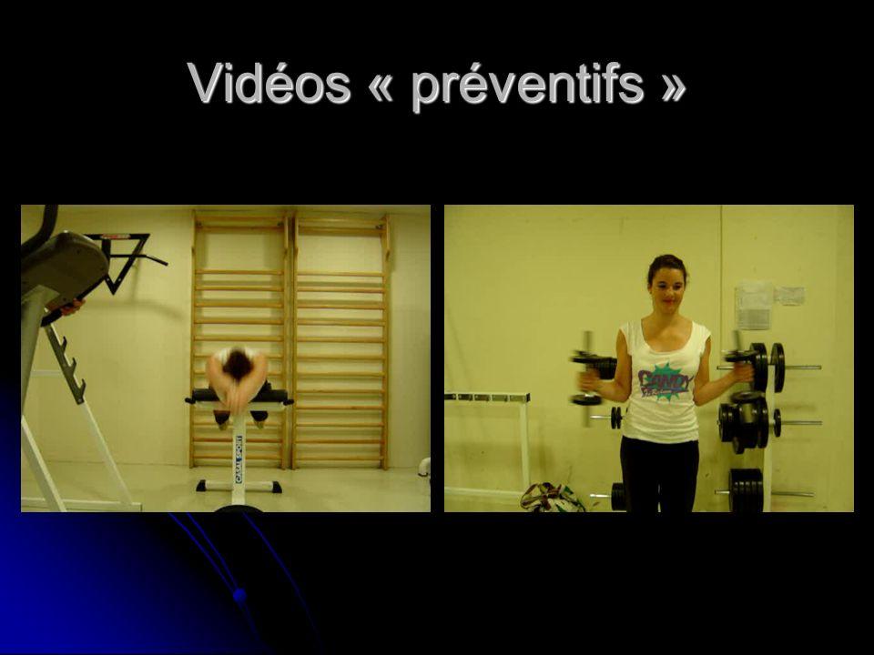 Vidéos « préventifs »