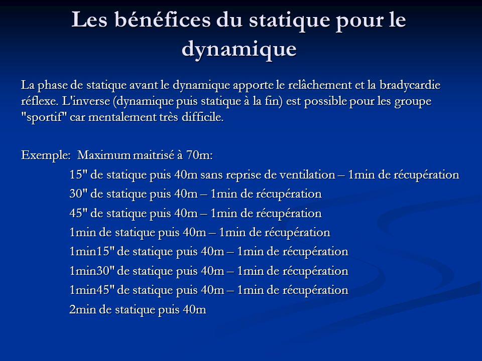 Les bénéfices du statique pour le dynamique