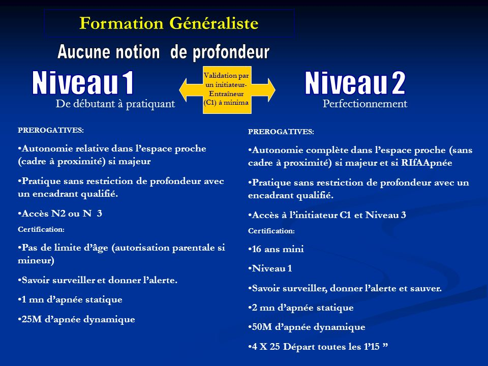 Formation Généraliste