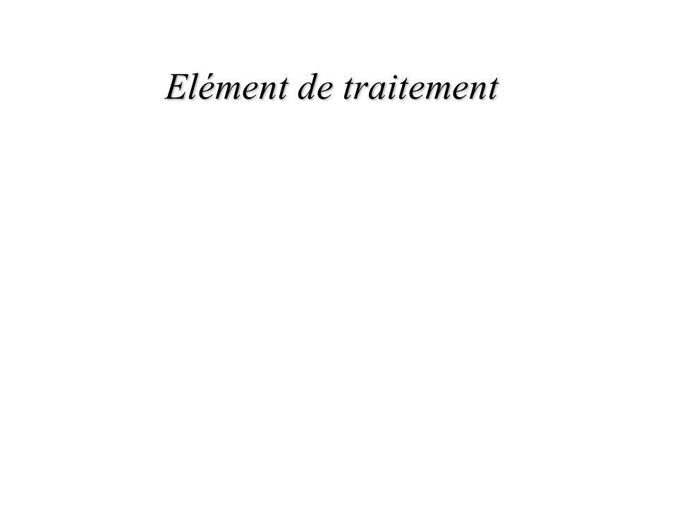 Elément de traitement