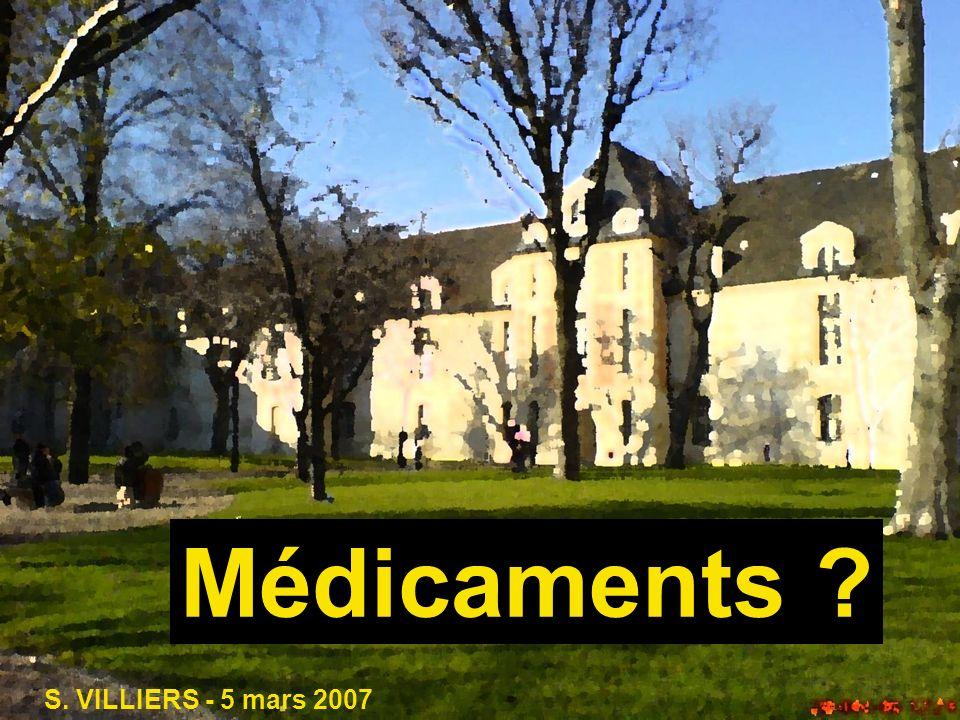 Médicaments S. VILLIERS - 5 mars 2007