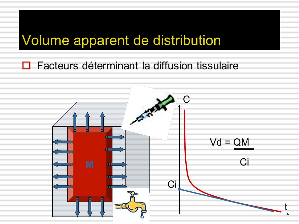 Volume apparent de distribution