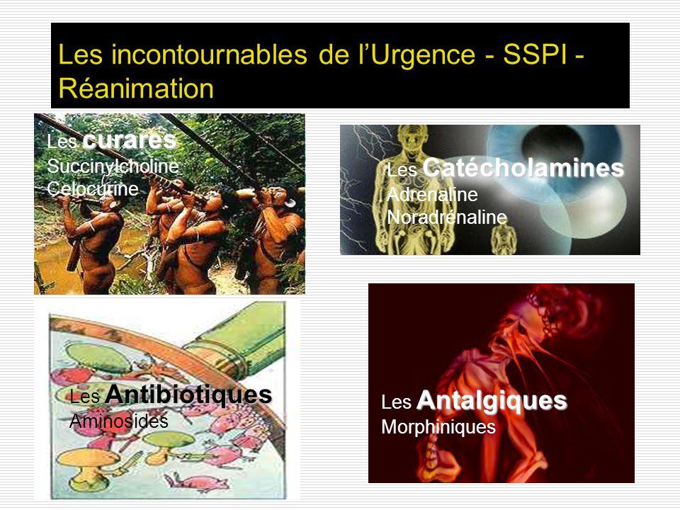 Les incontournables de l'Urgence - SSPI -Réanimation