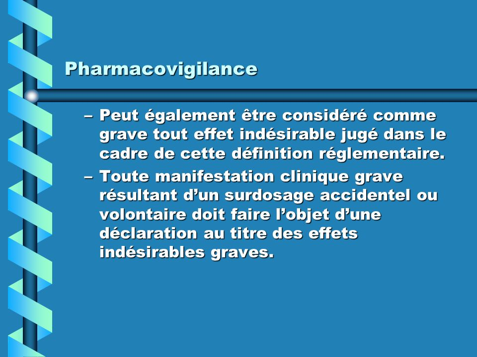 la prescription m 233 dicale la pharmacovigilance ppt t 233 l 233 charger