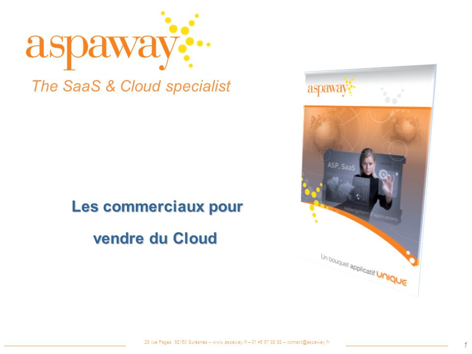 The SaaS & Cloud specialist