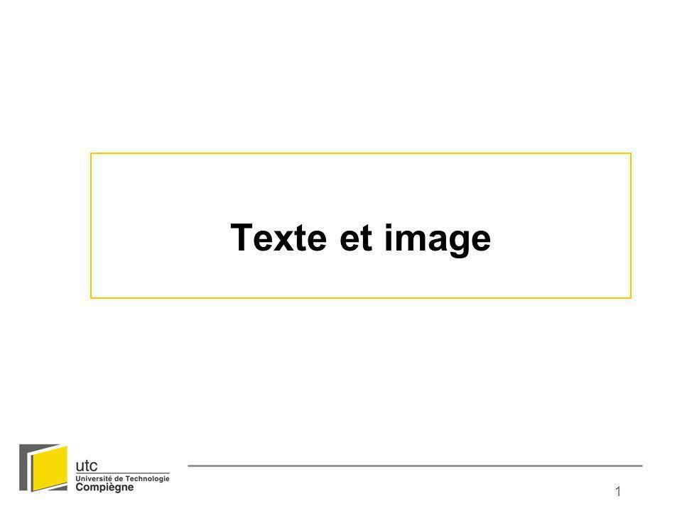 Texte et image