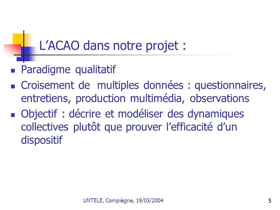 L'ACAO dans notre projet :