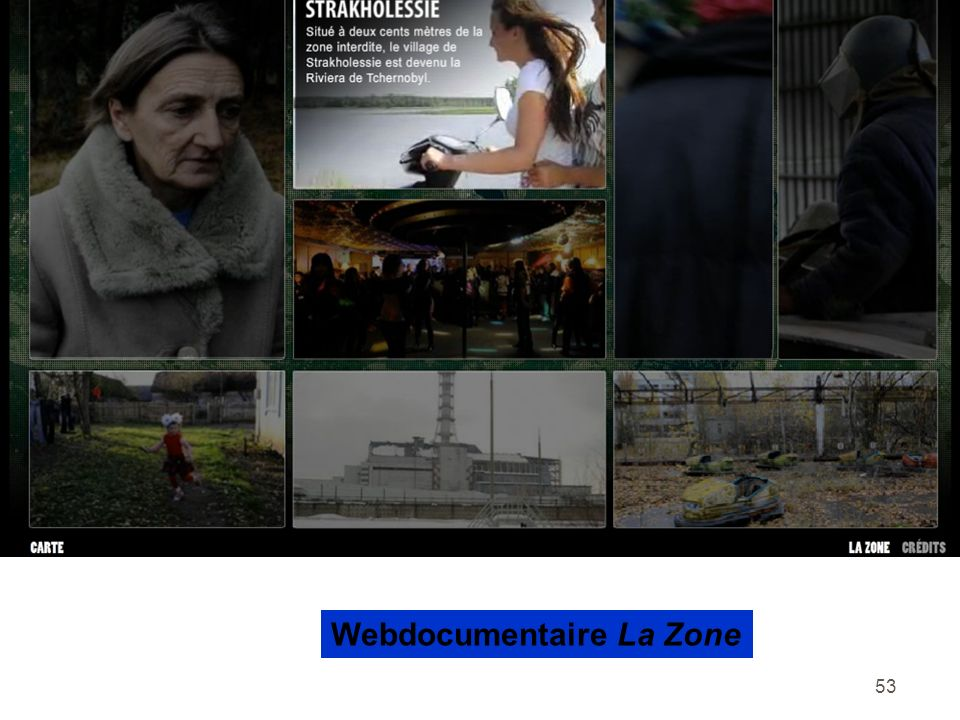 Webdocumentaire La Zone