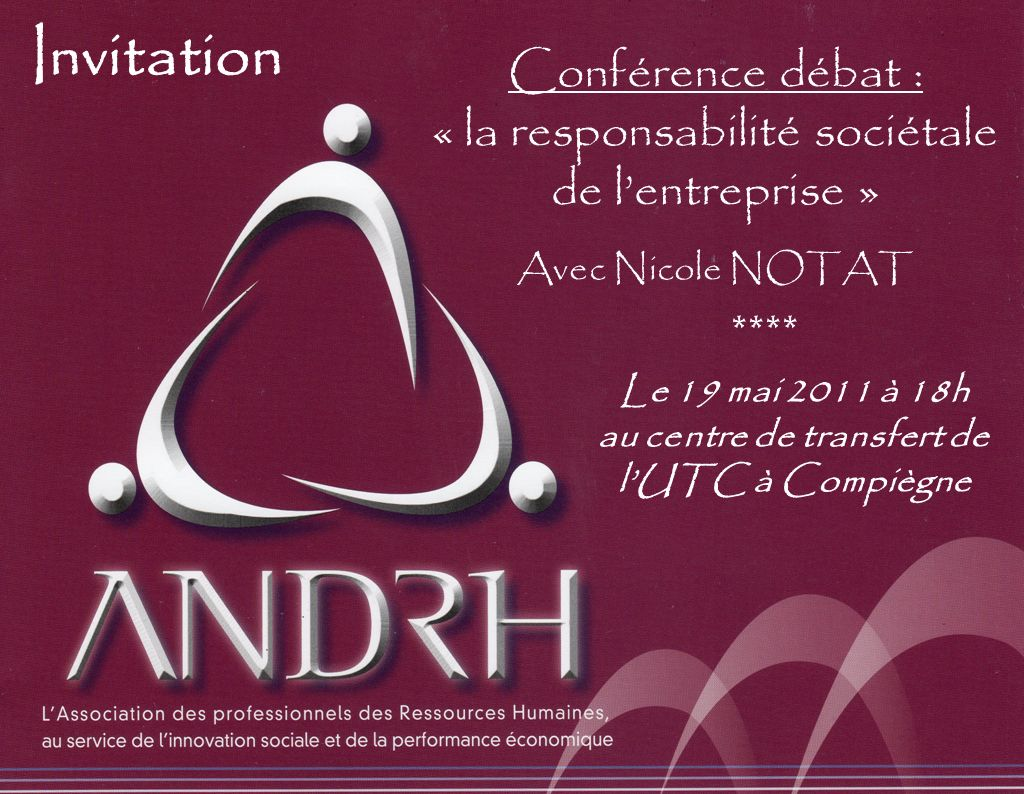 Le 19 mai 2011 à 18h au centre de transfert de l'UTC à Compiègne