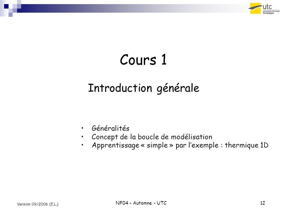 Cours 1 Introduction générale