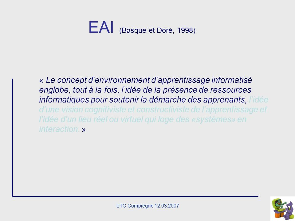 EAI (Basque et Doré, 1998)