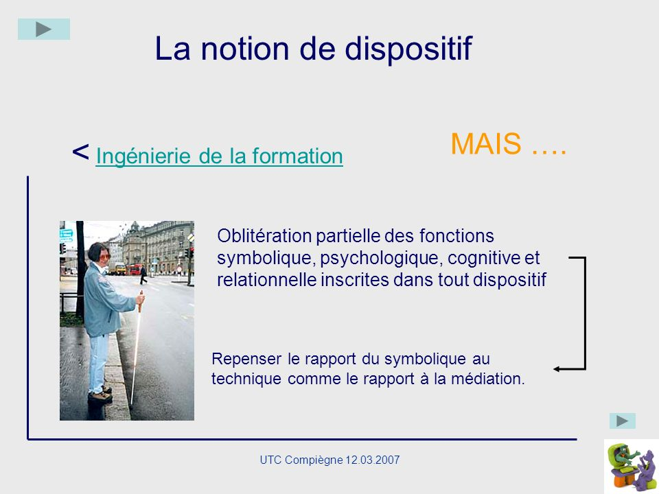 La notion de dispositif