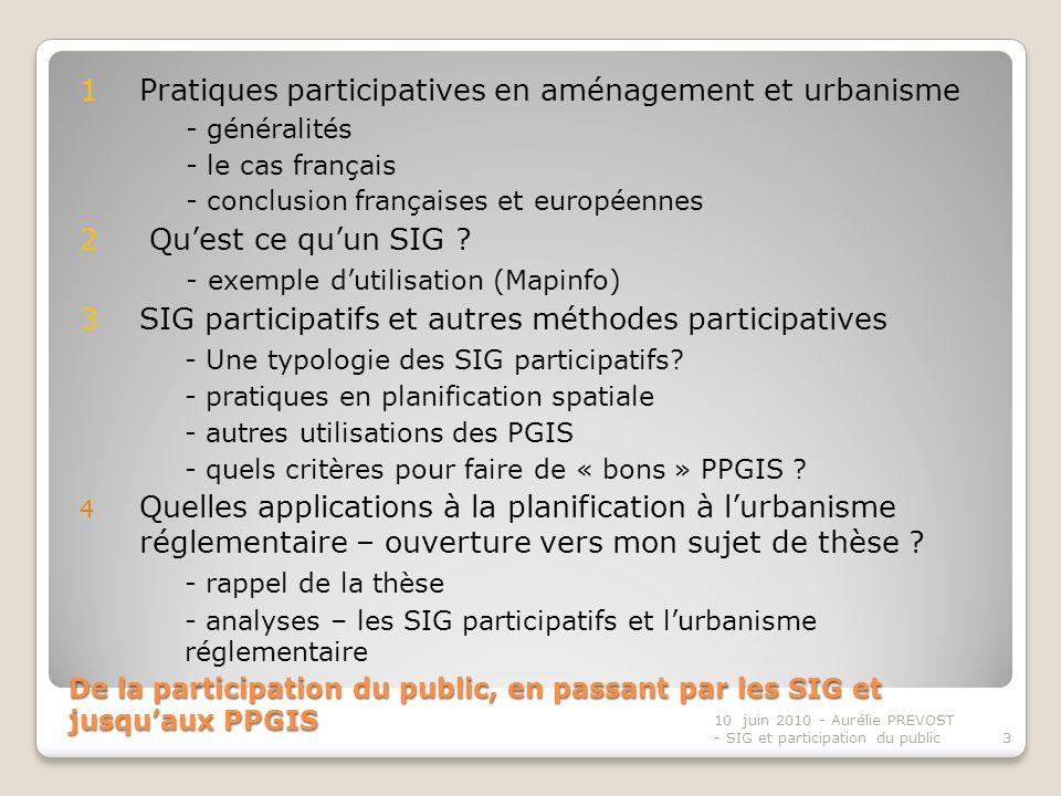 1 Pratiques participatives en aménagement et urbanisme