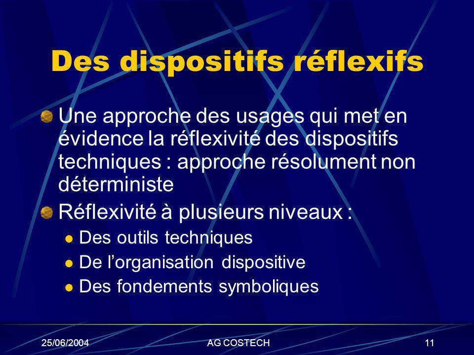 Des dispositifs réflexifs