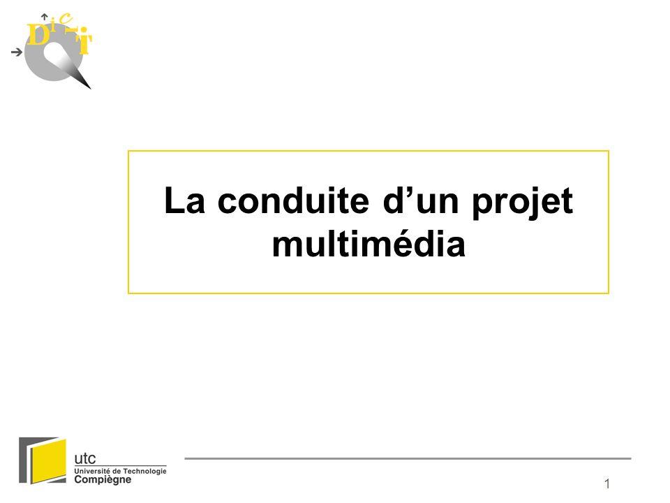 La conduite d'un projet multimédia