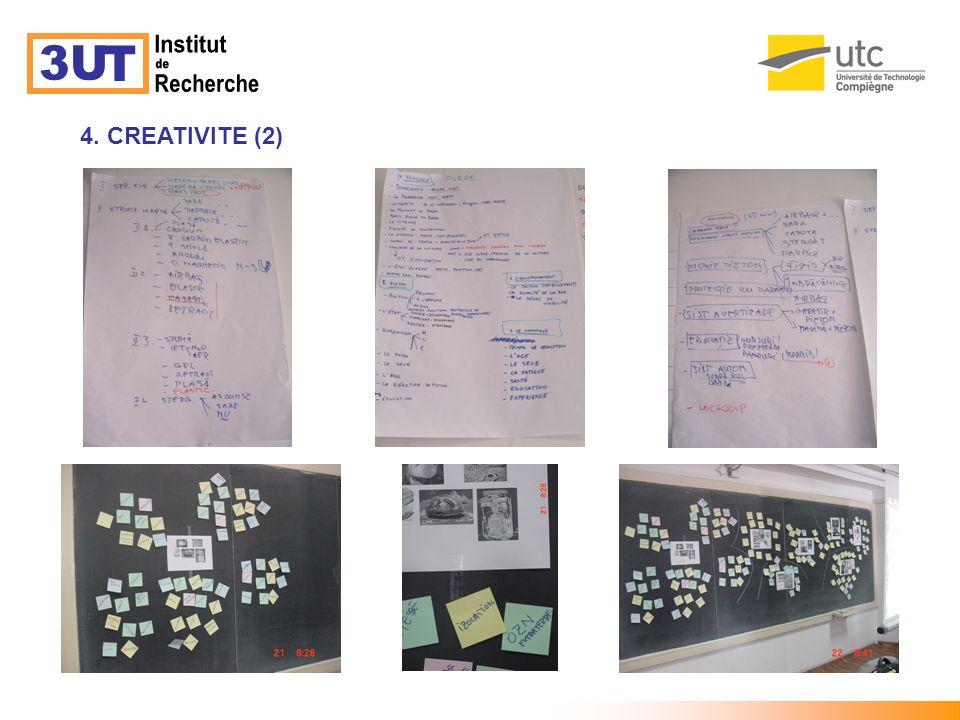 3U T Institut de Recherche 4. CREATIVITE (2)