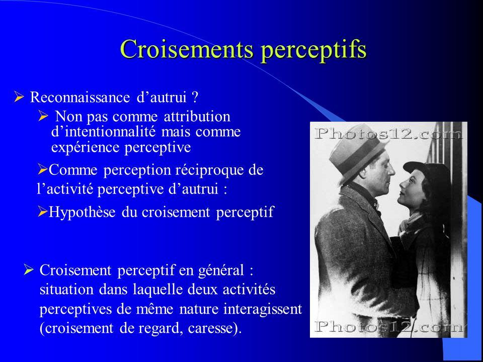 Croisements perceptifs
