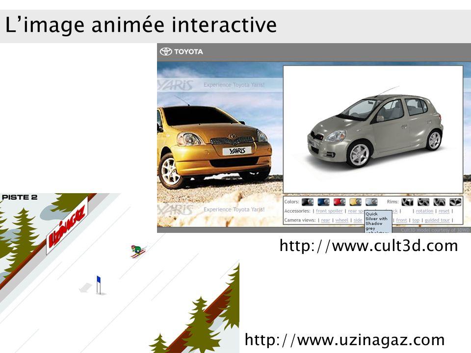 L'image animée interactive