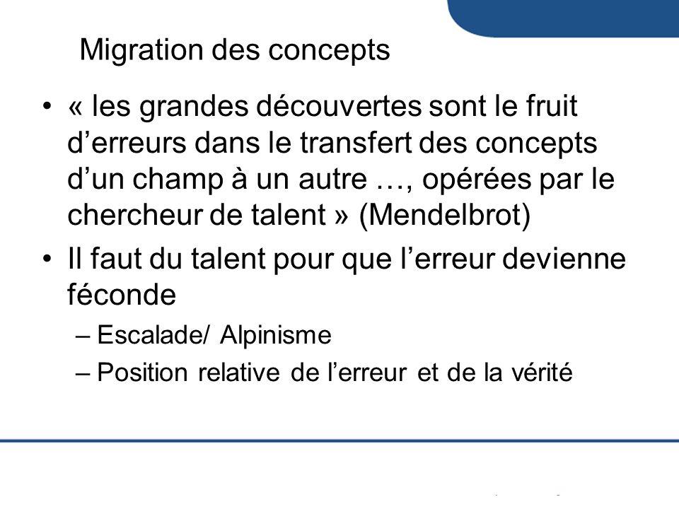 Migration des concepts