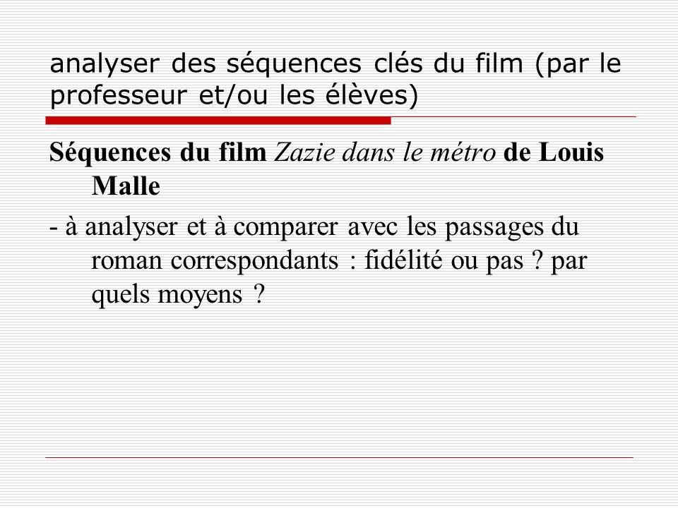 Séquences du film Zazie dans le métro de Louis Malle