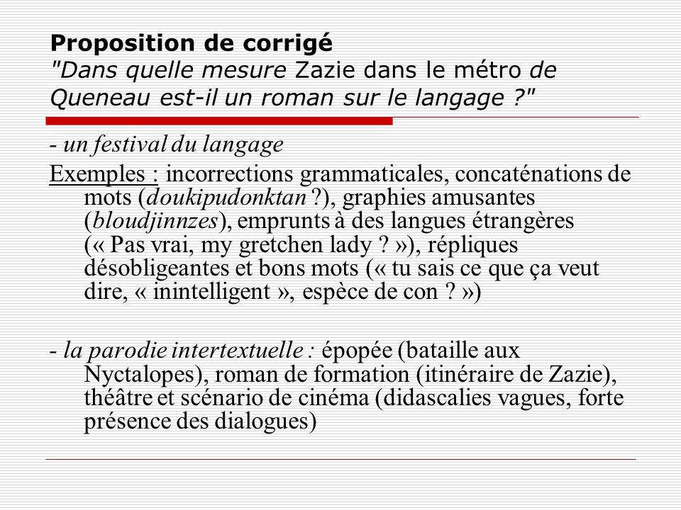 - un festival du langage