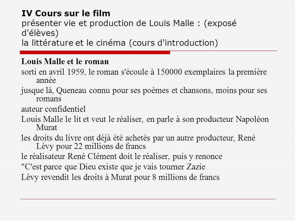 le réalisateur René Clément doit le réaliser, puis y renonce