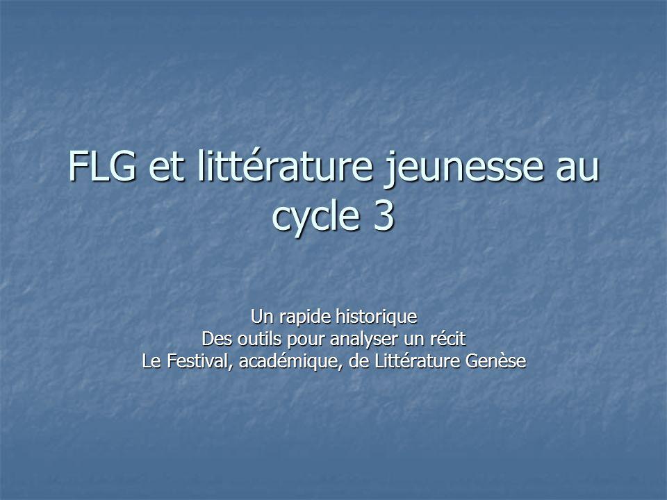 FLG et littérature jeunesse au cycle 3