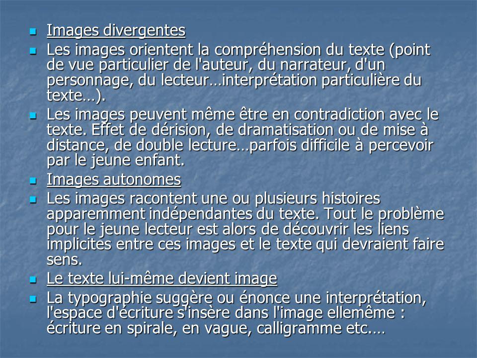 Images divergentes