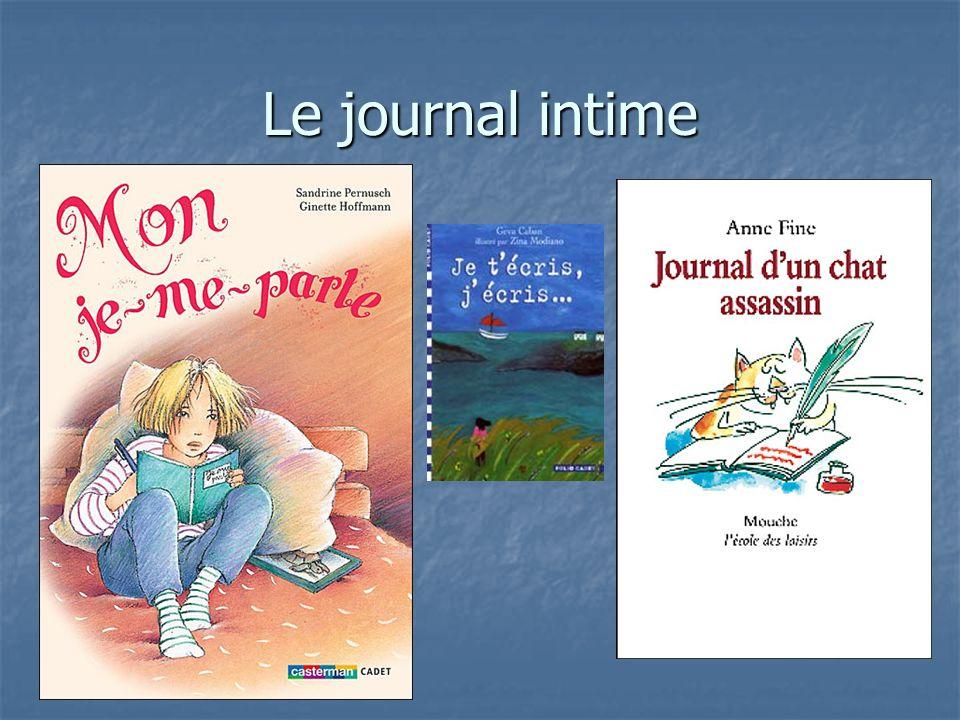 Le journal intime Mon je-me-parle : Récit fictionnel qui se présente comme le journal intime de Chloé, petite fille de 9 ans.