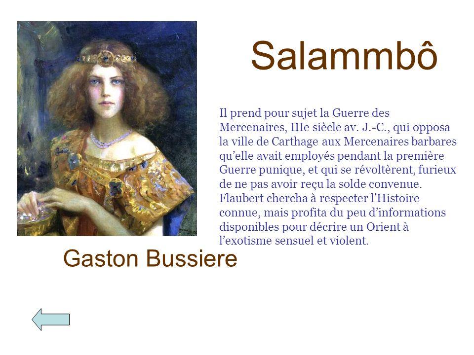 Salammbô Gaston Bussiere