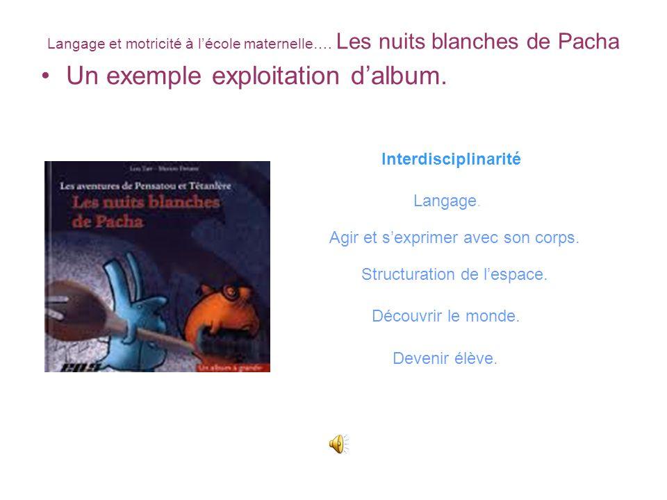 Un exemple exploitation d'album.