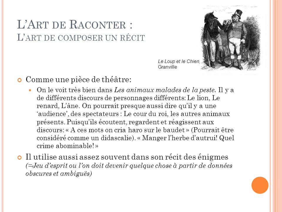 L'Art de Raconter : L'art de composer un récit