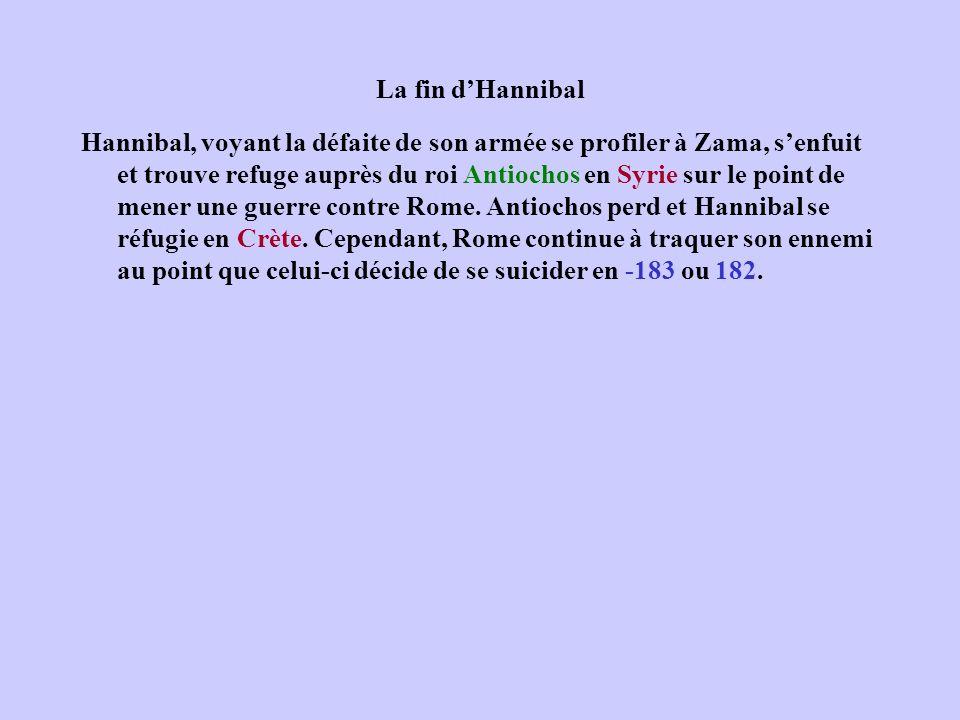 La fin d'Hannibal