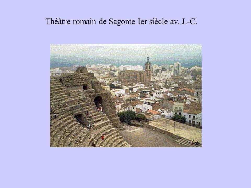 Théâtre romain de Sagonte Ier siècle av. J.-C.