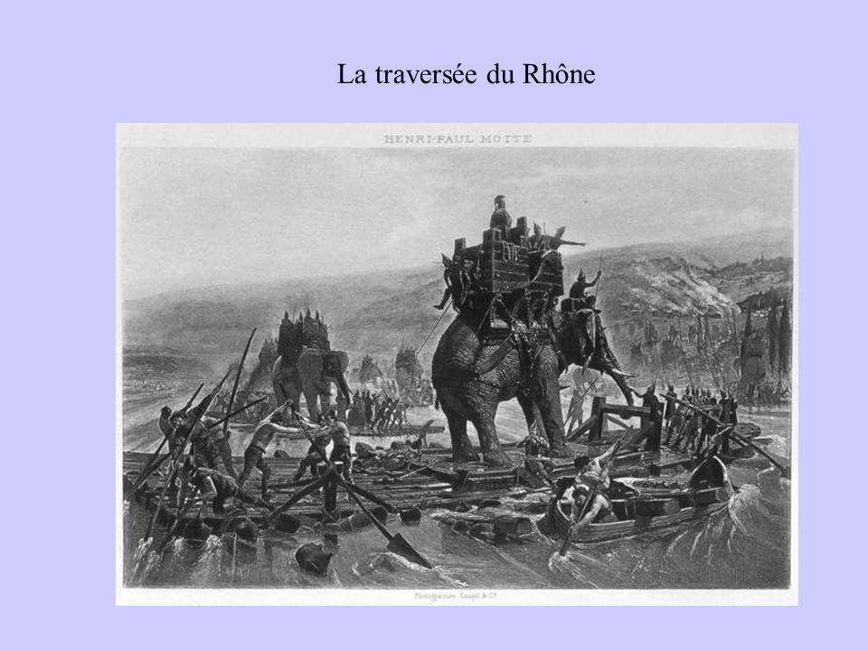 La traversée du Rhône