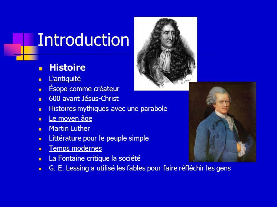 Introduction Histoire L'antiquité Ésope comme créateur