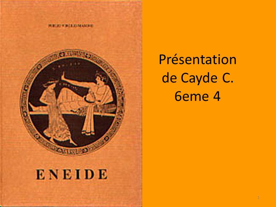 Présentation de Cayde C. 6eme 4